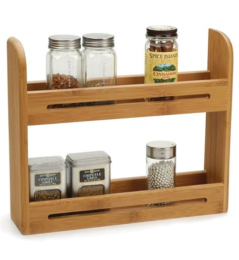 Spice Rack Spices Included by Bamboo Spice Rack In Spice Racks