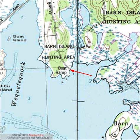 Barn Island Boat Launch by Kayak Launchlocation