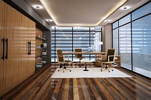 M, Office, Interior, On, Behance