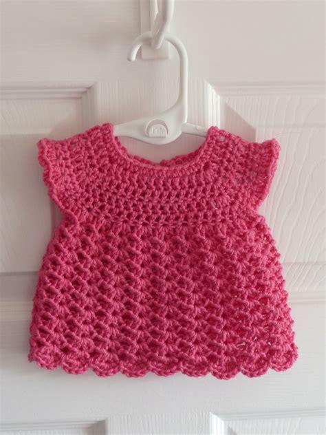 crochet baby dress princess crafts dinky crochet baby dress