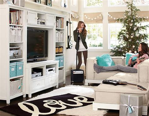 When Designing A Gameroom Or Hang Out Space, Pottery Barn