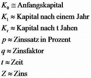 Zins Berechnen Formel : mathematik f r die berufsmatura exponentielle prozesse ~ Themetempest.com Abrechnung