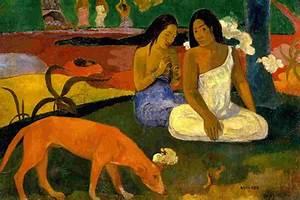 Amusement, Gauguin, 1892 - 1600x1200 - ID 8014 wallpaper ...