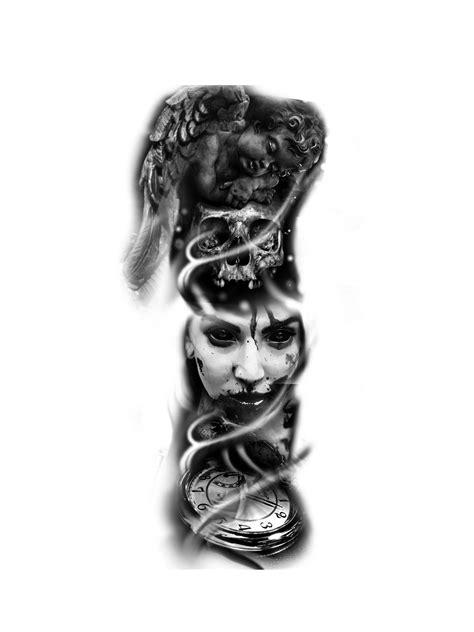 Pin by Iodine Lay on nla | Black tattoos, Tattoo sleeve designs, Body art tattoos