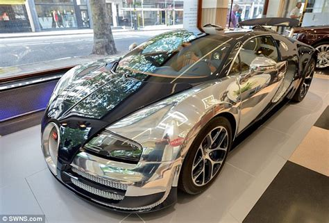 Bugatti Veyron Gets £3,000 Paint Job That Uses Microscope