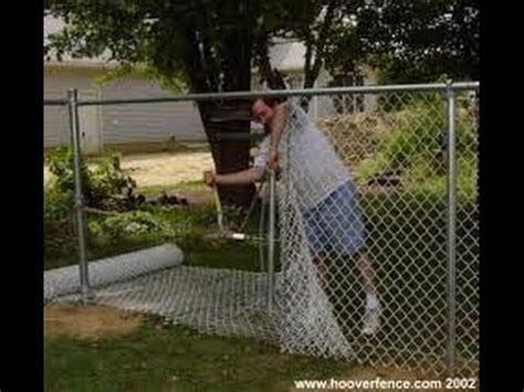 install  chain link fence part  youtube