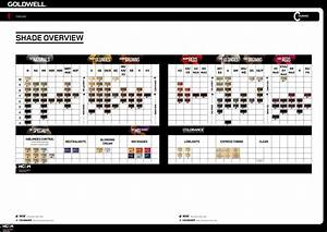 Reed Hair Color Chart Goldwell Topchic Colorance Shade Overview Goldwell