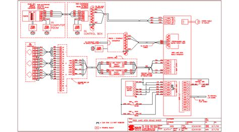 Schematic Box Wiring Diagram by Autocad Drawings