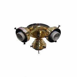 Air cool sinclair in flemish brass ceiling fan