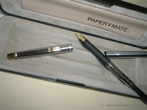 ==aª Pluma Estilografica-w.germany-paper Mate D