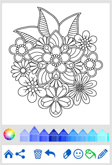 mandala coloring  adults android apps  google play
