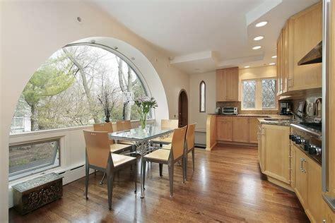 spacious light wood custom kitchen designs