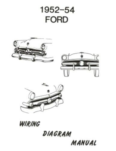 Ford Car Wiring Diagram Manual Ebay