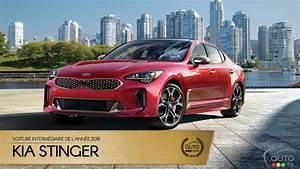 Nouvelle Kia Stinger Prix : la kia stinger notre voiture interm diaire de l ann e 2018 actualit s automobile auto123 ~ Medecine-chirurgie-esthetiques.com Avis de Voitures