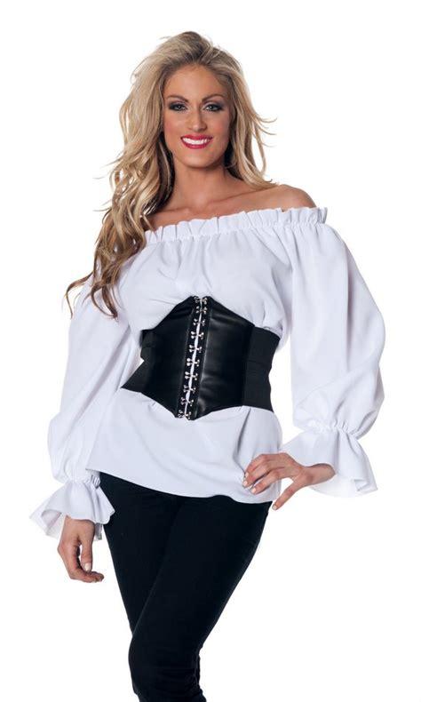womens plus blouses plus size 39 s sleeve white renaissance peasant