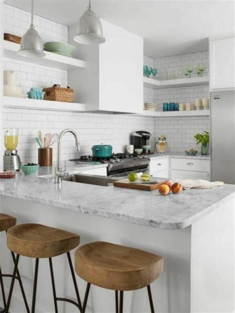 marbre cuisine cuisine marbre blanc et bois chaios com