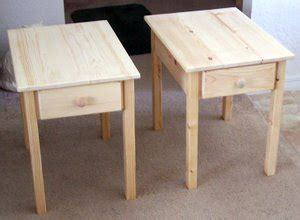 free simple end table plans these free end table plans are designed for the