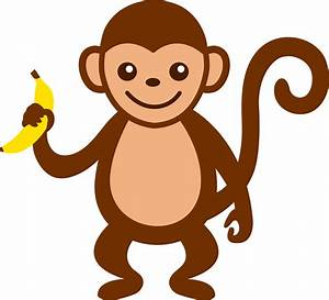 Pictures Of Cartoon Baby Monkeys - Cliparts.co
