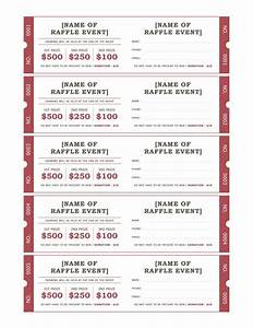 10 best images about raffle ticket templates ideas on With raffel ticket template