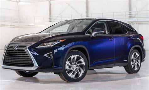 2019 lexus hybrid 2019 lexus rx 450h luxury hybrid suv colors release date