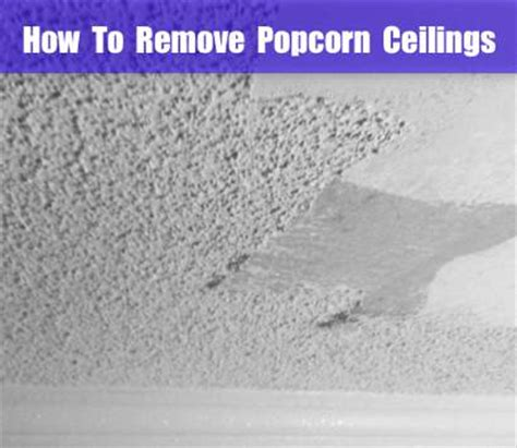 remove popcorn ceilings homestead survival