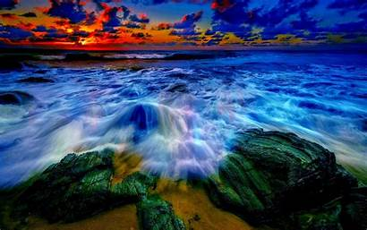 4k Ultra Ocean Sunset Uhd Definition Wallpapers
