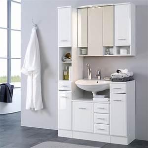 Waschbeckenunterschrank Hochglanz Weiß : bad waschbeckenunterschrank neapel 1 t rig 3 schubladen ~ A.2002-acura-tl-radio.info Haus und Dekorationen