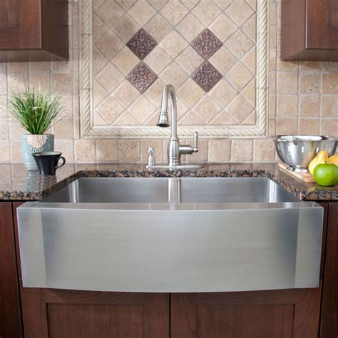 country kitchen sink ideas pretty stainless steel farmhouse sink in kitchen
