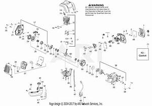 Poulan Pp133 Gas Trimmer Parts Diagram For Engine