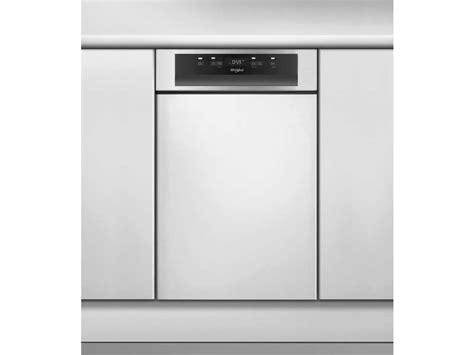 lave vaisselle integrable 45 cm lave vaisselle int 233 grable largeur 45 cm whirlpool
