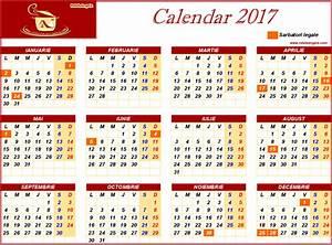 Calendar ortodox 2017 - aprilie : calendar