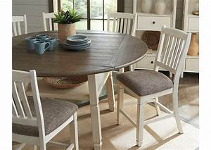 Bolanburg, Counter, Height, Dining, Room, Drop, Leaf, Table, Ashley, Furniture, Homestore