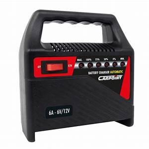 Batterie Voiture Amperage Plus Fort : chargeur de batterie 6 amp voiture auto bateau camping car 6v 12v 6 amperes ~ Medecine-chirurgie-esthetiques.com Avis de Voitures