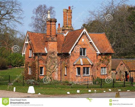 traditioanl english lodge house stock image image
