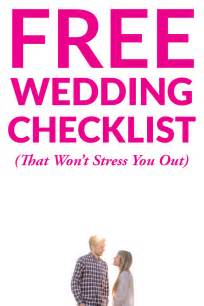 get our free downloadable wedding checklist a practical wedding we 39 re your wedding planner - Wedding Timeline Checklist