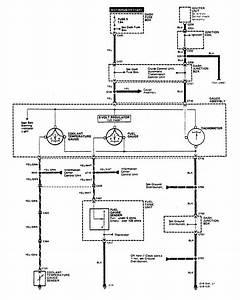Acura Legend  1990  - Wiring Diagrams - Instrumentation