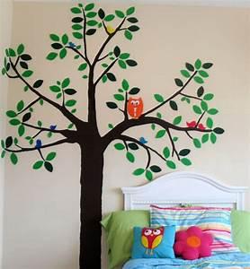 Wand Mit Bildern Gestalten : wandaufkleber selbst gestalten 30 originelle vorschl ge ~ Sanjose-hotels-ca.com Haus und Dekorationen