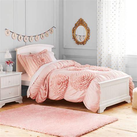 better homes and gardens kids ruffled flowers bedding