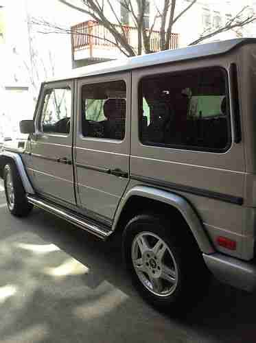 Mercedes G Wagon Used
