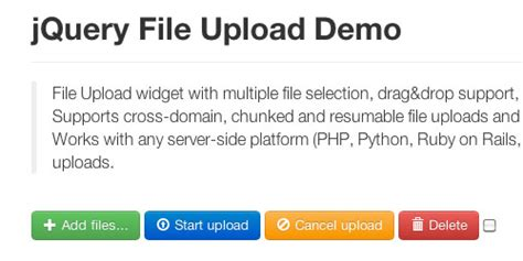 7 javascript ajax file upload plugins