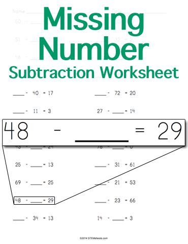 17 Best Images About Math Stem Resources On Pinterest  Money Worksheets, Integers And Printable