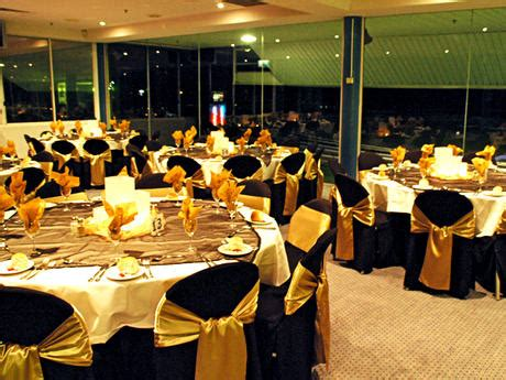 black banquet chair covers black and gold wedding theme we do weddings