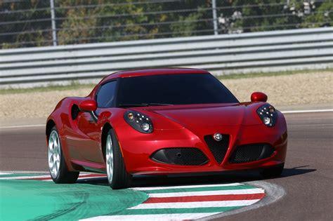 Alfa Romeo 4c Uk 2014 Red Front Low Track Speed (1280×852