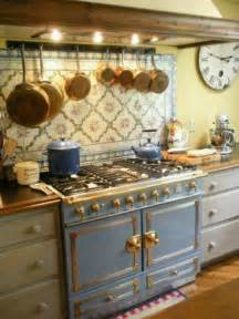 Primitive Decor Kitchen Cabinets by French Kitchen Love The Stove Amp Tiles French Country