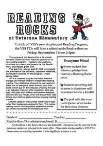 school reading programs reading rocks at veterans veterans elementary pta