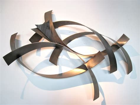 metro modern curtis jere abstract metal wall sculpture