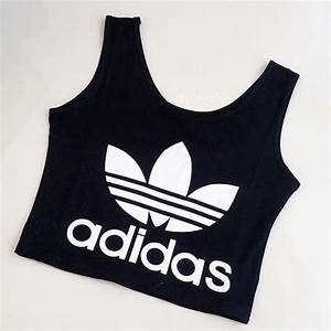 adidas crop shirt damen