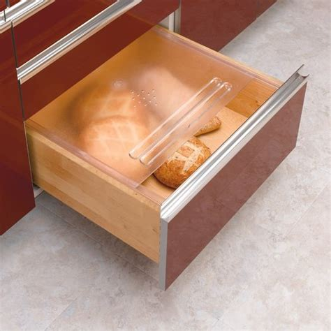 drawer kits for kitchen cabinets rev a shelf translucent bread drawer cover kit 20 1 8 inch 8826