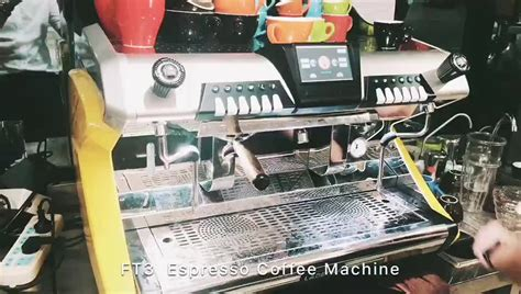 Energy-saving Ft3 Espresso Coffee Machine With Touch