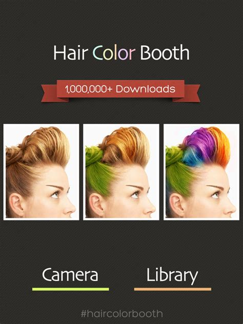 hair color booth app hair color booth free ios review apps appsmenow